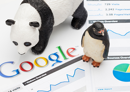 seo strategies in 2014 - effects of google panda and google penguin