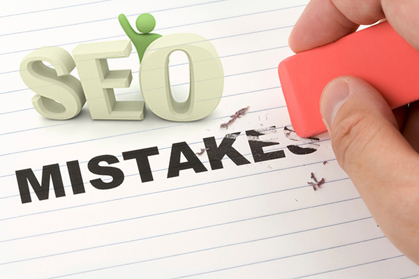 5 common SEO Errors you are Probably Guilty of Making