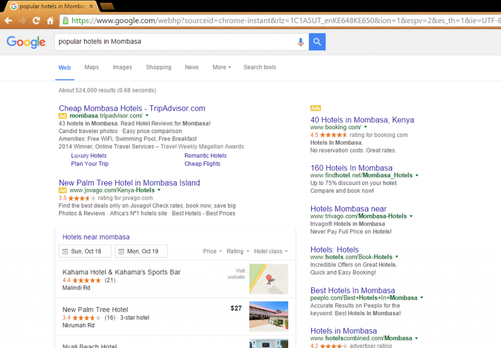 Search Engine Optimization Investment in Kenya