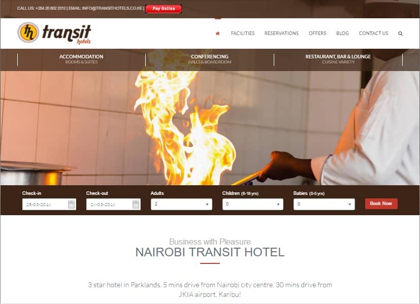 Social Media Marketing SEO Project - Nairobi Transit Hotel