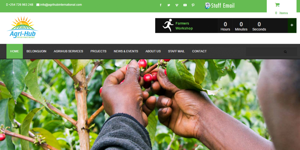 Website Design Color Pyschology -Environmental and Agriculture