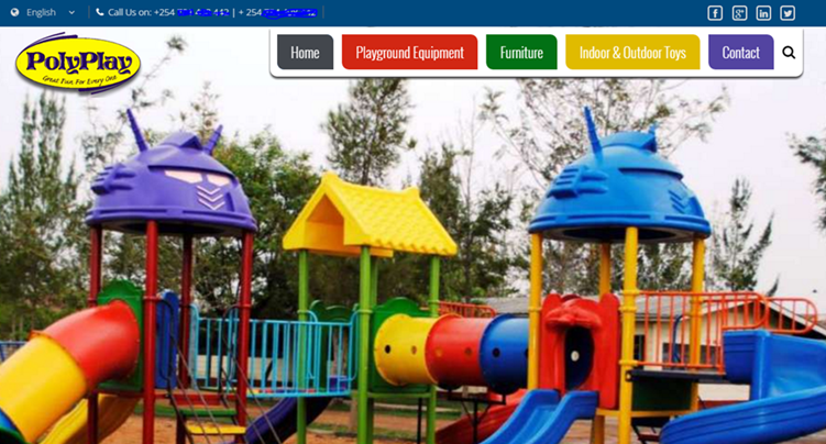 Website Design Color Pyschology - Kids Website