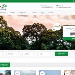 PK Estates Web Design Social Media - Homepage