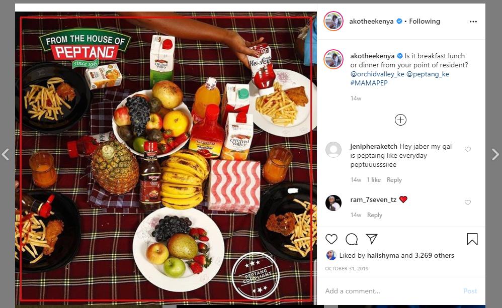 Peptang - Influencer Marketing Kenya with Akothee