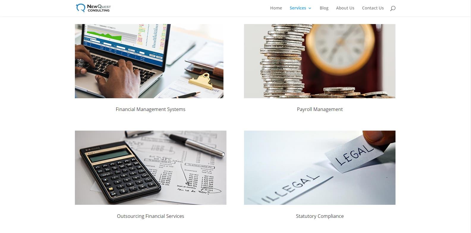 Web Design Services - NewQuest Consulting Kenya
