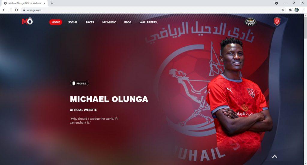 Portfolio and Resume Websites - Michael Olunga